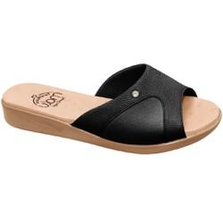 Tamanco Joanete e Esporão - Preto Sola Areia - MA14039PT - Pé Relax Sapatos Confortáveis