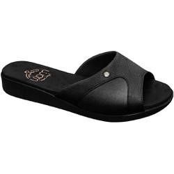 Tamanco Joanete e Esporão - Preto Sola Preta - MA14039PSP - Pé Relax Sapatos Confortáveis