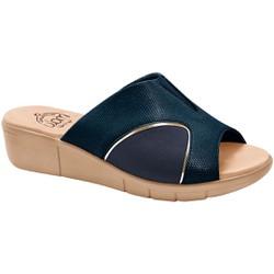Tamanco para Joanete - Cobra Navy - MA585018A - Pé Relax Sapatos Confortáveis