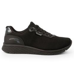 Tênis Confort para Caminhada - Preto - KOK4061PT - Pé Relax Sapatos Confortáveis
