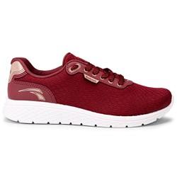 Tênis Confort para Caminhada - Cabernet - KOK4061CA - Pé Relax Sapatos Confortáveis