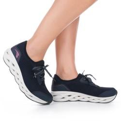 Tênis para Caminhada com Palmilha Massageadora - Marinho - K5003MA - Pé Relax Sapatos Confortáveis