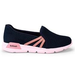 Tênis Feminino para Esporão e Fascite Plantar - Azul - KOK8482AZ - Pé Relax Sapatos Confortáveis
