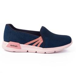 Tênis Feminino para Esporão e Fascite Plantar - Azul - KOK84820003AZ - Pé Relax Sapatos Confortáveis