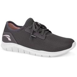 Tênis Caminhada Feminino - Cinza - KOK8681CZ - Pé Relax Sapatos Confortáveis