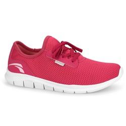 Tênis Caminhada Feminino - Rouge - KOK8681RO - Pé Relax Sapatos Confortáveis