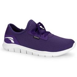 Tênis Caminhada Feminino - Roxo - KOK8681RX - Pé Relax Sapatos Confortáveis