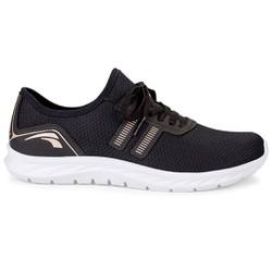 Tênis para Esporão e Joanete - Preto - KOK8861PT - Pé Relax Sapatos Confortáveis