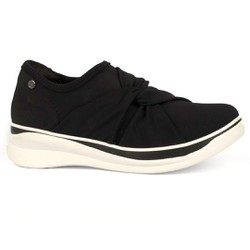 Tênis para Joanete - Preto - CAL7045PT - Pé Relax Sapatos Confortáveis