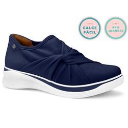Tênis para Joanete - Azul - CAL7045AZ - Pé Relax Sapatos Confortáveis