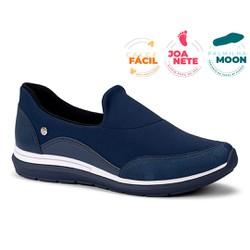 Tênis Feminino para Joanete e Esporão - Azul - CAL7321AZ - Pé Relax Sapatos Confortáveis