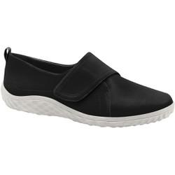 Sapatilha com Velcro Feminina - Preto - MA421047PT - Pé Relax Sapatos Confortáveis