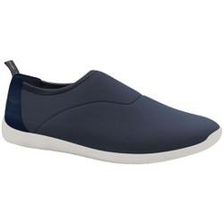 Tênis Feminino Confortável - Azul - MA434020AZ - Pé Relax Sapatos Confortáveis