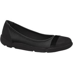 Tênis Sapatilha para Fascite - Preta - MA628011PT - Pé Relax Sapatos Confortáveis
