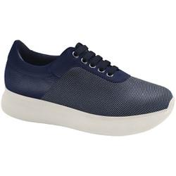 Tênis Feminino para Esporão de Calcâneo - Azul - MA673003AZ - Pé Relax Sapatos Confortáveis