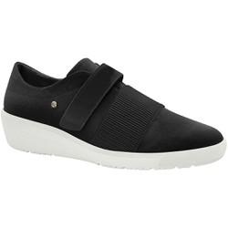 Tênis Fascite Plantar e Joanete com Velcro - Preto - MA859003PT - Pé Relax Sapatos Confortáveis