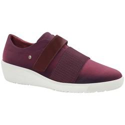 Tênis Fascite Plantar e Joanete com Velcro - Vinho - MA859003V - Pé Relax Sapatos Confortáveis
