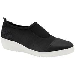 Tênis Fascite Plantar e Joanete com Velcro - Preto - MA859004PT - Pé Relax Sapatos Confortáveis