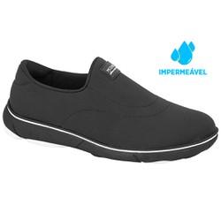 Sapato Impermeável Feminino - Preto - MO7339206PT - Pé Relax Sapatos Confortáveis