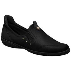 Sapatênis Feminino para Esporão e Fascite - Preto - PI955028PT - Pé Relax Sapatos Confortáveis