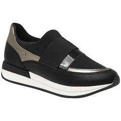Tênis Casual Feminino Confortável - Preto - PI974022PT - Pé Relax Sapatos Confortáveis