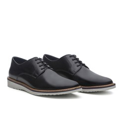 Sapato Masculino Derby Smooth Preto