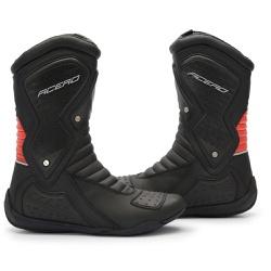 Bota Acero Speed Low - Preto / Vermelho - ACT Footwear