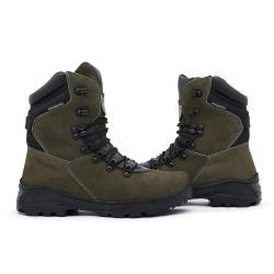 Bota C.A Coturno Militar Acero Tiger - Musgo - ACT Footwear