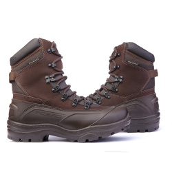 Bota C.A Coturno Militar Acero Tiger Pro - Café - ACT Footwear