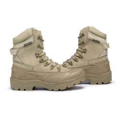 Bota C.A Coturno Militar Acero Tiger Pro - Desert - ACT Footwear