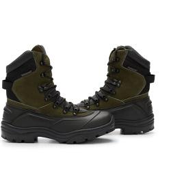 Bota C.A Coturno Militar Acero Tiger Pro - Musgo - ACT Footwear