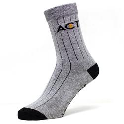 Meia de Algodão Cano Alto Act Footwear - Cinza - ACT Footwear