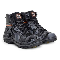 Bota ACT Scavator Camuflada + Meia Brinde - ACT Footwear