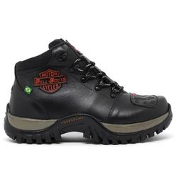 Bota Bell Boots Adventure/Motoqueiro 2027 - Preto/... - ACT Footwear