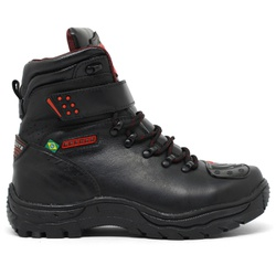 Bota Bell Boots Adventure/Motoqueiro 2030 - Preto/... - ACT Footwear