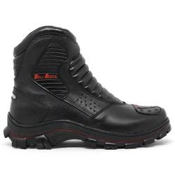 Bota Bell Boots Adventure/Motoqueiro 3000 - Preto/... - ACT Footwear