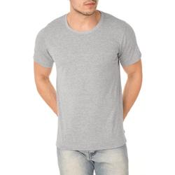 Camiseta Masculina Lisa - Cinza Mescla - ACT Footwear