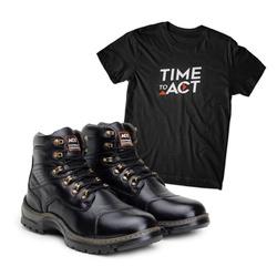 Bota ACT Guerrilha 2189 Preto + Camiseta Preto - ACT Footwear