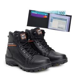 Bota ACT Scavator Preto + Carteira Preto - ACT Footwear