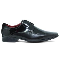 Sapato Social Mariner Rugby Envernizado - Preto - ACT Footwear