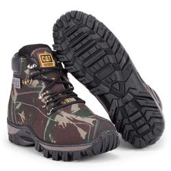 Bota Masculina Caterpillar Camuflada Verde - Adventure Shoes | Loja Especializada em Calçados Adventure