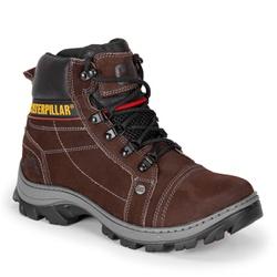 Bota Masculina Caterpillar Marrom em Couro - Adventure Shoes | Loja Especializada em Calçados Adventure
