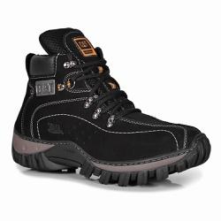 Bota Masculina Caterpillar Preto em Couro - Adventure Shoes | Loja Especializada em Calçados Adventure