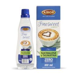 Adoçante Líquido Zero Sódio 100ml Finesweet - AIRON