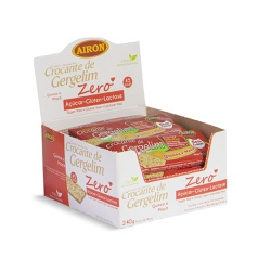 Crocante de Gergelim com Quinoa e Maçã 240g - AIRON