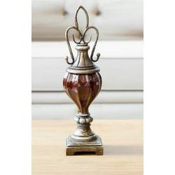 Vaso Decorativo em Resina - AE0124-P - ALAMIN IMPORTAÇÃO EXPORAÇÃO LTDA