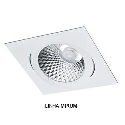Spot Embutir PAR30 Quadrado Orientável Alumínio In... - ALAMIN IMPORTAÇÃO EXPORAÇÃO LTDA