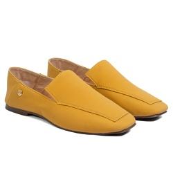 Loafer Feminino Mostarda