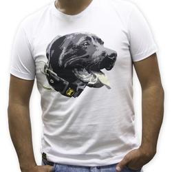 Camiseta PitBull Masculina - Branco - PITBR - AMOROSSO