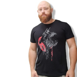 Camiseta Shnauzer Masculino - Preto - ShnaRob - AMOROSSO